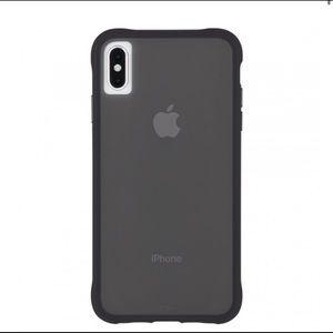 New Case-Mate iPhone XS Max Tough Smoke Phone Case